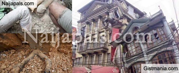 Close To 450 People Dead As Heavy Earthquake Rocks Nepal (Photos Inside)