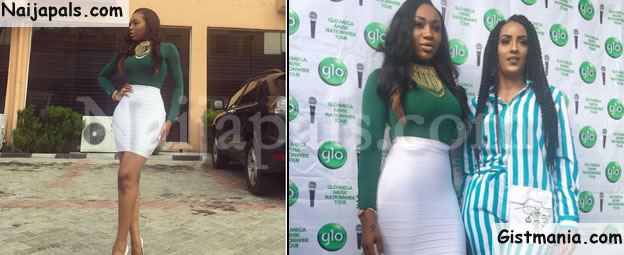 Nollywood Actress, Ebube Nwagbo Poses With Juliet Ibrahim As She Shows Off Trim Figure