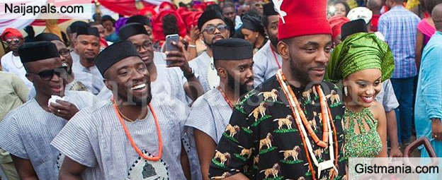 More Photos From Ebuka Obi-Uchendu and Wife Cynthia Obianodo Traditional Wedding