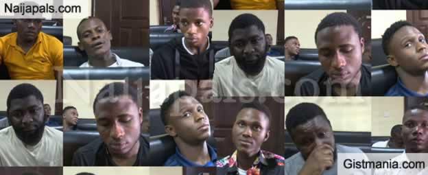 EFCC Secures Conviction Of Nine Yahoo Boys (Photos)