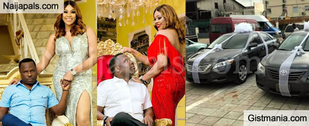 Rich Divorced Mum Gives Out Cars As Souvenirs As She Marries For The 3rd Time In Benin - Photos