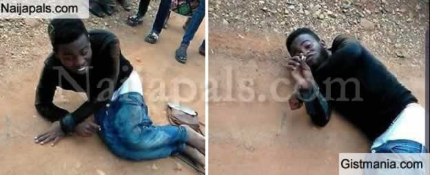 Yahoo Plus Gone Wrong! Ekiti State University Student Runs Mad Suddenly