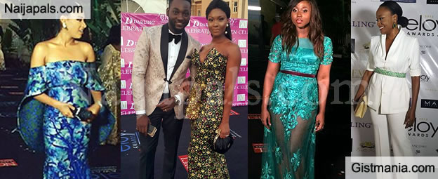 Osas Ajibade and Other Hot Celebs Heat Up The Red Carpet At ELOY Awards - Photos