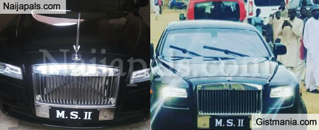 Tush! Emir Of Kano Just Bought Himself The Latest Rolls Royce Phantom - Photos