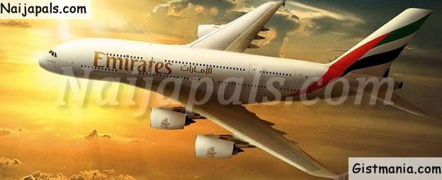 SAD! Nigerian Woman Dies Onboard Emirates Airlines From Dubai To Lagos