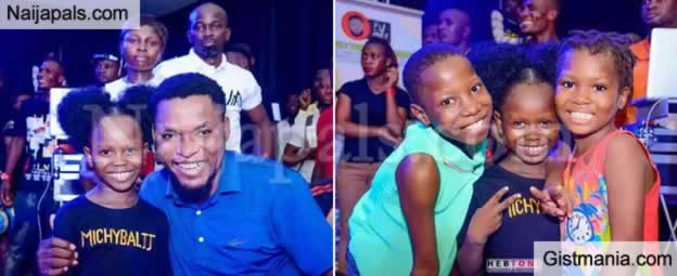 Photo: Comedienne Emmanuella, Success Adegor And Little Success Meet For The First Time