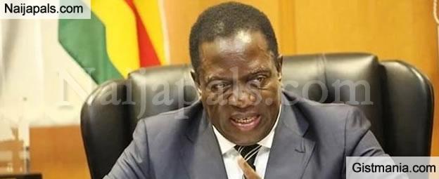 BREAKING: Emmerson Mnangagwa Sworn In As The Next Zimbabwe President
