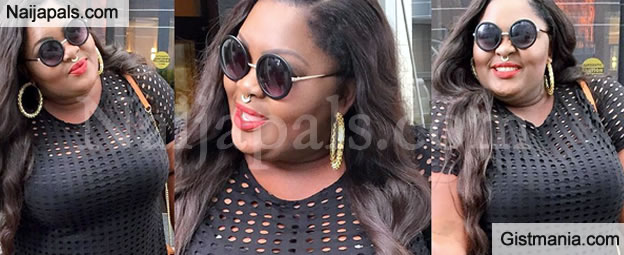 Eniola Badmus Stuns In Fitting Black Outfit - Photos