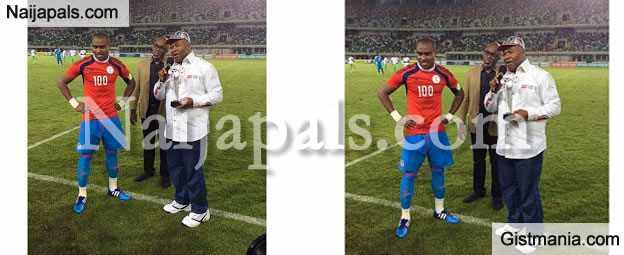 BREAKING! Super Eagles Coach, Sunday Oliseh Kicks Vincent Enyeama Out Of Camp