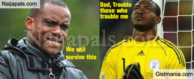 EXPLOSIVE! Super Eagles Coach, Sunday Oliseh Sheds Light on Rift With Vincent Enyeama (VIDEO)