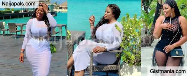 #BbNaija Star, Ese Eriata Is Enjoying Time Of Her Life In Maldives With Her Rich Boyfriend