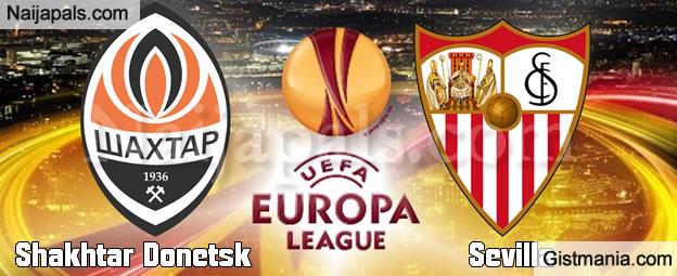EUROPA LEAGUE SEMI FINAL Shakhtar Donetsk Vs Sevilla - 28/04/16