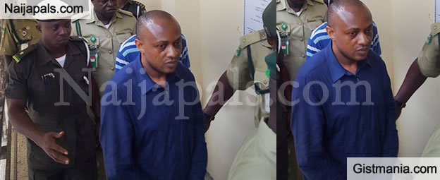 Billionaire Kidnapper, Evans Looking All Cleaned Up As He Appears In Lagos Court Today (Photos)