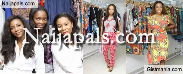 Photos: Genevieve, Oluchi Orlandi Poses For The LPM Africa Fashion Experience