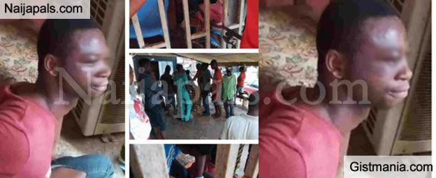 Popular Benin Pastor Caught With So Many Panties & Bras Disgraced In Church In Edo (Video)