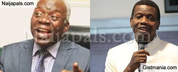 """Pastor Adeboye Is Creating Business Centres, Not Churches""- Human Right Lawyer, Femi Falana"