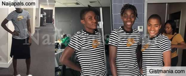 PHOTOS: Nigeria's Super Falcons Launch Casual Outfit For Women's Worldcup 2019