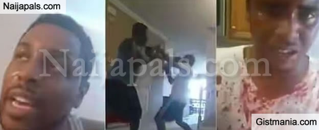 Father Beats Up his 17 year Old Son in Boxing Match as Punishment for Skipping School