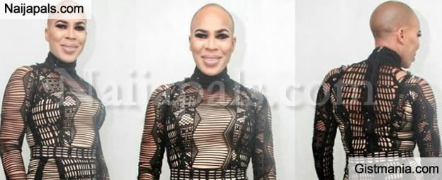 Sexy Mama! Fathia Balogun Looks Amazing With Her Low Cut At The 2016 City People Award
