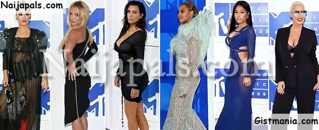 PHOTOS: Beyoncé, Kim Kardashian, Nicki Minaj, Amber Rose & Many More At The VMAs Red Carpet