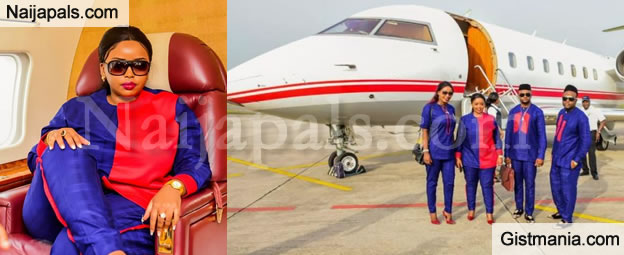 The Kingdom Of God Needs Money & Speed - Female Pastor Says As She Flaunts Her New Private Jet