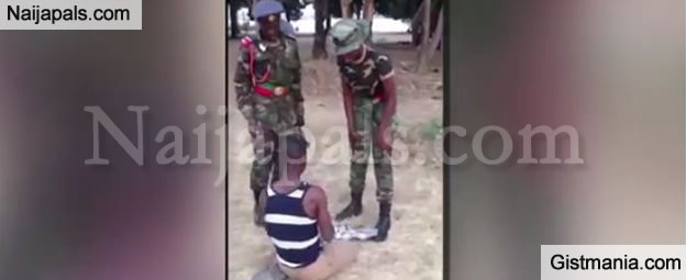 Man Says He'll To Sue The Nigerian Army On Behalf Of Man Beaten By Cadets