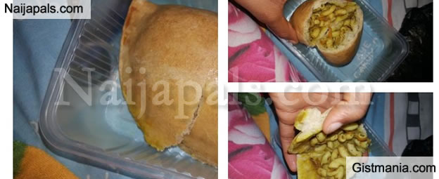 PHOTOS: See What A Lady Found Inside Meat Pie She Bought