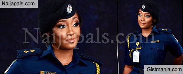 Pretty Nigerian Fire Fighter Gave An Epic Reply To A Troll Who Tried To Belittle Her Job