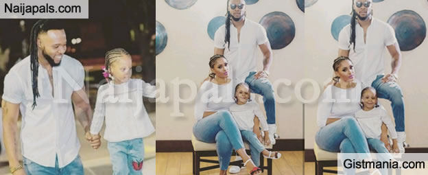 Singer Flavour, Sandra Rock Same Outfit With Daughter To Celebrate Her Birthday (Photos)