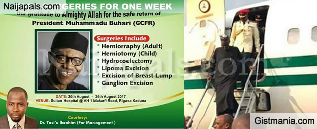 Kaduna Hospital Offers Free Surgeries For A Week To Celebrate Return Of President Buhari (Photos)