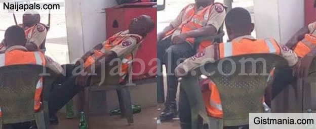 FRSC Operatives Who Were Pictured Drunk While On Duty Have Landed In Serious Trouble -Details