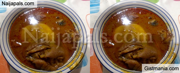Drama As Father And Son Run Mad After Eating A Bowl Of Fufu