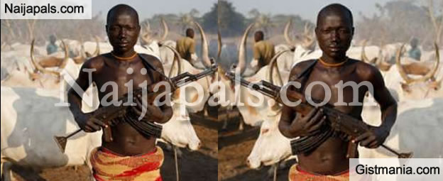 Armed Herdsmen Spotted Heading to Agatu Community in Benue Before the Massacre (Video)
