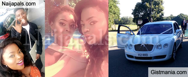 First Photos From Funke Akindele's Wedding To JJC In London