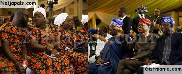 Tinubu, Gbajabiamila, Fani Kayode, Other Notable Faces @ Night Of Tributes For Funke Olakunrin (Photos)