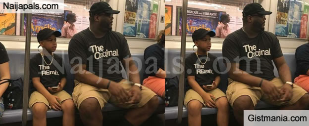 The Inscription On The T Shirts' Of This Father And Son Will Make You Laugh (PHOTO)