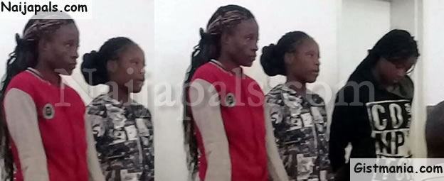 DAUGHTERS OF JEZEBEL! Photos Of Three Youg Lady Who Detained & Gang-Molest A Pastor