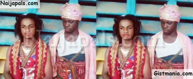 TF!? Police Storms Gay Wedding In Abuja, Arrests Bride and Groom
