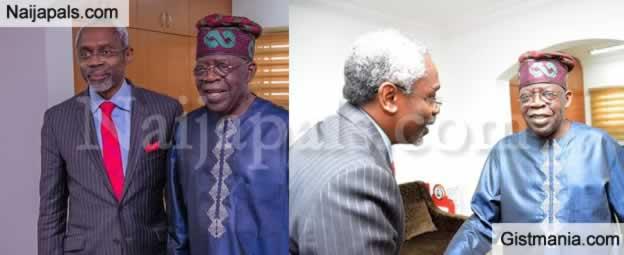 Hon. Speaker Of The House, RT. Hon. Gbajabiamila Visits His Boss Asiwaju Tinubu (Photos)