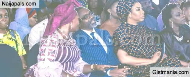 Minister For Women Affairs, Pauline Tallen Attacked For Kneeling To Beg Femi Gbajabiamila