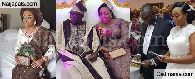 Lovely Photos From The Grand Wedding Of GTBank, UK MD-CEO, Gbenga Alade & His Hearthrob, Yetunde