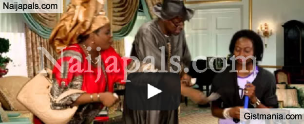 Hilarious Video Of President Jonathan Saying Goodbye To Aso Rock [Video]
