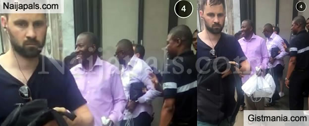 Ex-President Jonathan Spotted On A Shopping Spree - Photo