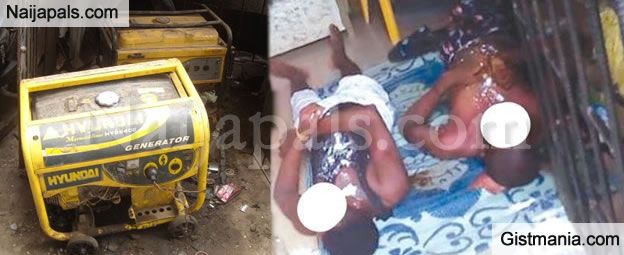 TRAGIC! Generator Fume Kills Two Grown up Brothers in Their Shop in Lagos (Sad Photos)