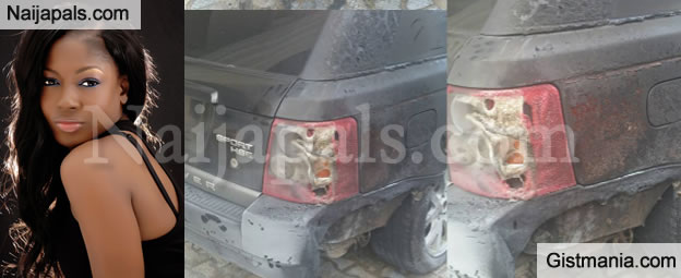 Actress Susan Peters Narrates How Fire From Generator Burnt Her Range Rover Sports Car