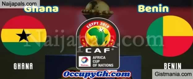 Ghana v Benin Rep. - African Cup Of Nations Group Match, Scorers And Stats