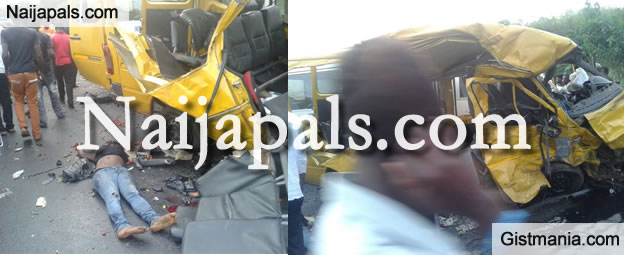 Photos From A Fatal Accident Involving The University Of Ghana Bus (Photos)