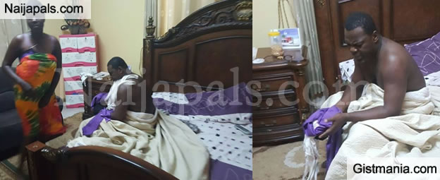 Ghana Popular Pastor Caught Pant Down With A Married Church Member On Her Matrimonial Bed