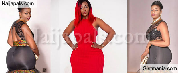 UKWULICIOUS! The Sexy Curves On This Ghanaian Actress Is To Die For - Photos