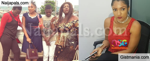 BBNaija! Evicted Housemate, Gifty Pictured with Her Family